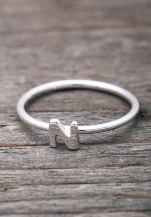 Silver ring P