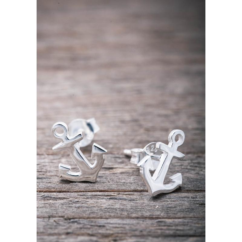 Silverörhänge ankare