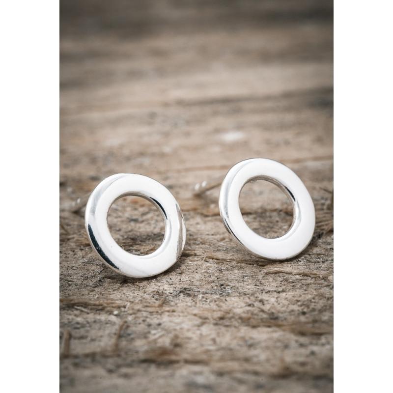 Silverörhänge cirkel