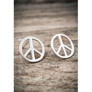 Silverörhängen peace stor