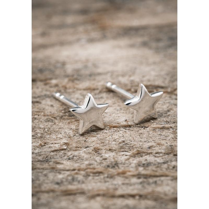 Silverörhänge stjärna