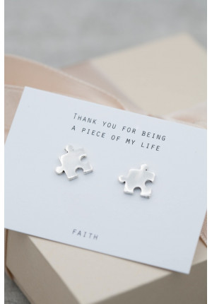 Silver earrings puzzle