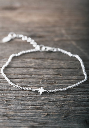Silver bracelet star-limited edition