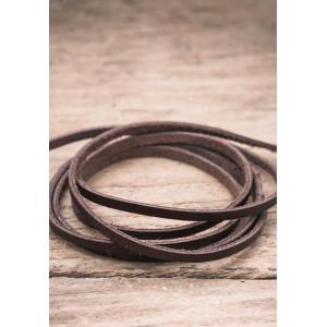 Läderband brun